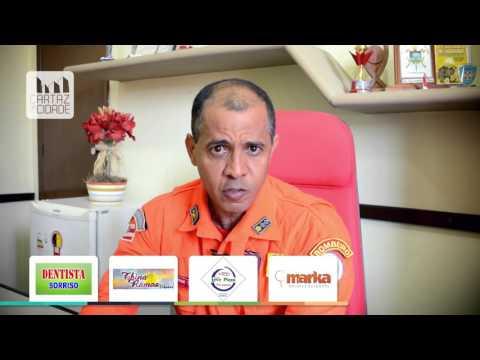 Dicas de Segurança com o Maj BM Tarcísio Ribeiro