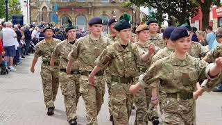 Armed Forces Day Parade 23 06 2018 Coleraine NI