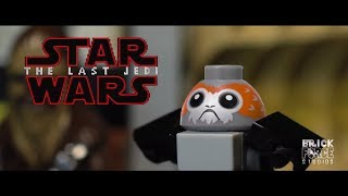 Star Wars: The Last Jedi IN LEGO! Official trailer re-creation