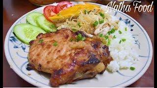 Bí quyết ướp sườn nướng cho món Cơm Tấm Sài Gòn ngon tuyệt đỉnh || Natha Food