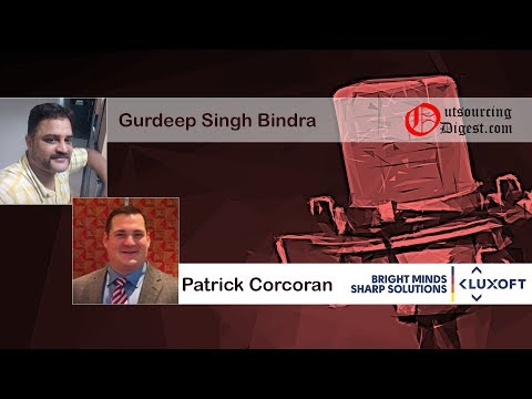 Patrick Corcoran (Luxoft) - Outsourcing Digest Interview