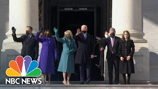 President-Elect Biden Arrives At The Capitol For His Inauguration | NBC News