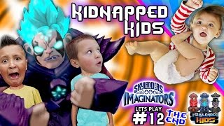 Kaos vs DBZ SUPER SAIYAN KAOS! Final Battle 2 Save Kids & Win Game (SKYLANDERS IMAGINATORS Pt 12)