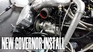 New Governor Install - Building the Raptor Prototype