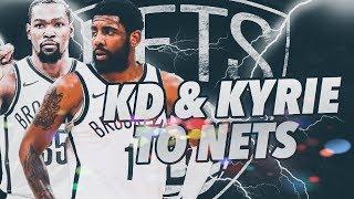 SIMULATING KEVIN DURANT + KYRIE IRVING + DEANDRE JORDAN ON THE BROOKLYN NETS   NBA 2K19