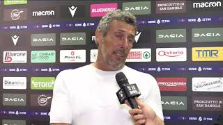 Udinese Juventus 2-2   Post Gara   Luca Gotti  22 Agosto 2021