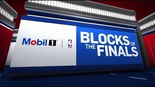 Top 10 Blocks from the 2017 NBA Finals