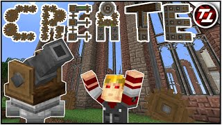 The Base that Builds Itself! - Minecraft Create Mod