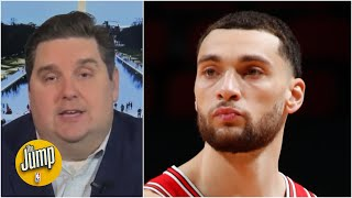 Brian Windhorst: NBA executives are keeping an eye on Zach LaVine   The Jump
