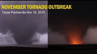 TORNADO EXPLOSION! November Tornado Outbreak 2015 - El Reno Blues Vlog & More!