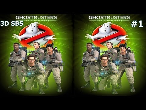 Ghostbusters: The Video Game 3D video SBS by Mitch141 141