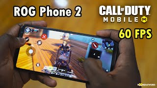 Call of Duty Mobile 60FPS // ROG Phone 2