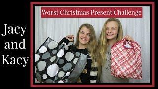 Worst Christmas Present Challenge ~ Jacy and Kacy