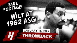 SUPER RARE! Wilt Chamberlain Highlights at 1962 All-Star Game - 42 Pts, 24 Reb!