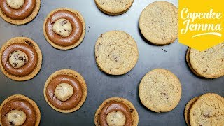Cookie Dough Sandwich Cookies! | Cupcake Jemma