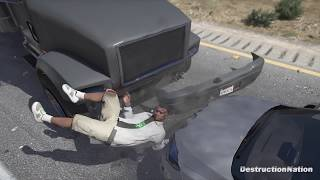 GTA 5 Ragdolls Compilation #5 (Euphoria physics | Funny Moments)