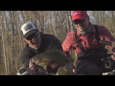 Fly Fishing for Smallmouth Bass with Mike Schultz: Re-Discover Your Region #4