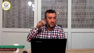 002 Bakara Suresi II. Kur 054. Ayetin Tefsiri (Yasin Karataş Hoca)