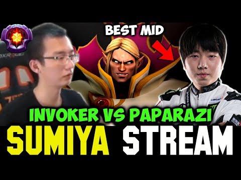 SUMIYA vs PAPARAZI the Best Midlaner   Sumiya Invoker Stream Moment #294