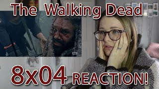 The Walking Dead Reaction 8x04