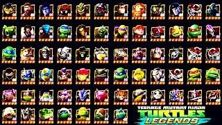 TMNT Legends - All Characters (67) Unlocked (Mutanimals)