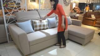 Bộ Sofa giường đa năng tiện dụng 232 2 - Nội thất Gia Khánh