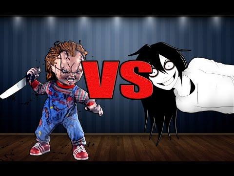 Jeff the killer slenderman vs freddy krueger jason la otra zona