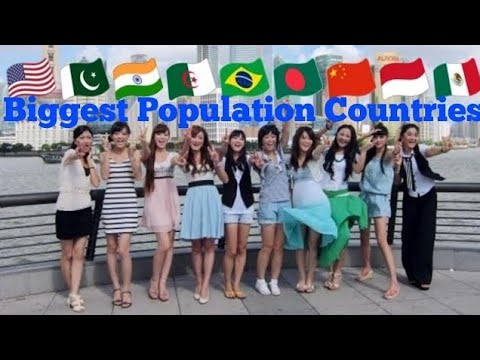 Top10, countires with the highest population, | world population, | comparison,