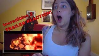 NEW The Incredibles 2 Trailer - REACTION VIDEO!   Disney Pixar Official Trailer