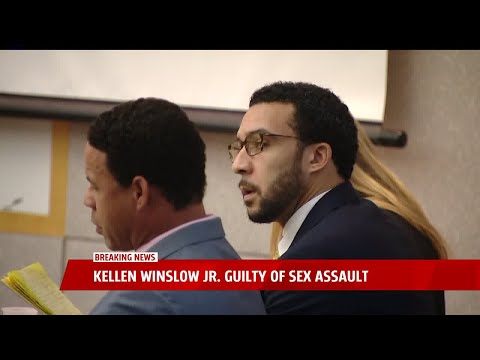 Kellen Winslow Jr. Guilty of Sex Assault