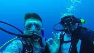 Blue Hole Diving, Belize 2018