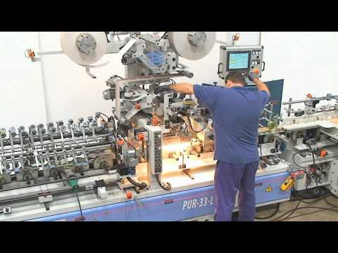 BARBERAN 120. Rotary tool bar changing system.