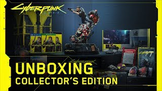 Cyberpunk 2077 – Collector's Edition unboxing ufficiale