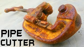 Antique Pipe Cutter RESTORATION