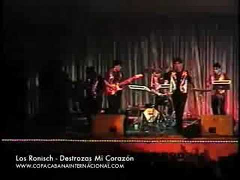 Los Ronisch En Vivo - Destrozas Mi Corazón