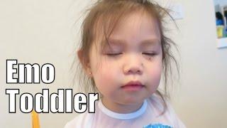 Emo Toddler- April 15, 2015 ItsJudysLife Vlogs