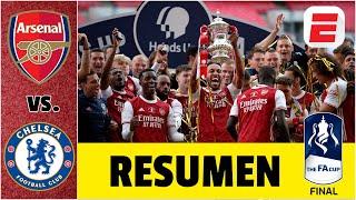 Arsenal vs Chelsea final de la FA Cup 2019-20. Pulisic anotó. Récord para el campeón | Exclusivos