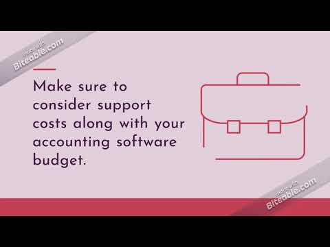 Tips to choose small business accounting software | EzAccounting Software