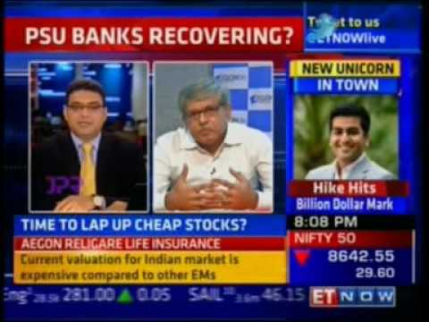 Saibal Ghosh – Chief Investment Officer at Aegon Life gives his market views on ET Now.