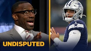 Shannon Sharpe warns the Cowboys not to use their franchise tag on Dak Prescott   NFL   UNDISPUTED