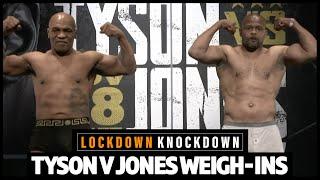 Full Mike Tyson v Roy Jones Jr weigh-ins show, plus Dubois v Joyce preview