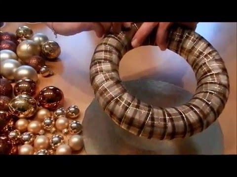 diy adventskranz selber basteln easy advent wreath. Black Bedroom Furniture Sets. Home Design Ideas