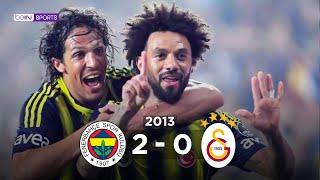 Fenerbahçe 2 - 0 Galatasaray Maç Özeti 10 Kasım 2013