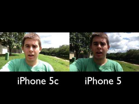 iphone 5 vs iphone 5c camera