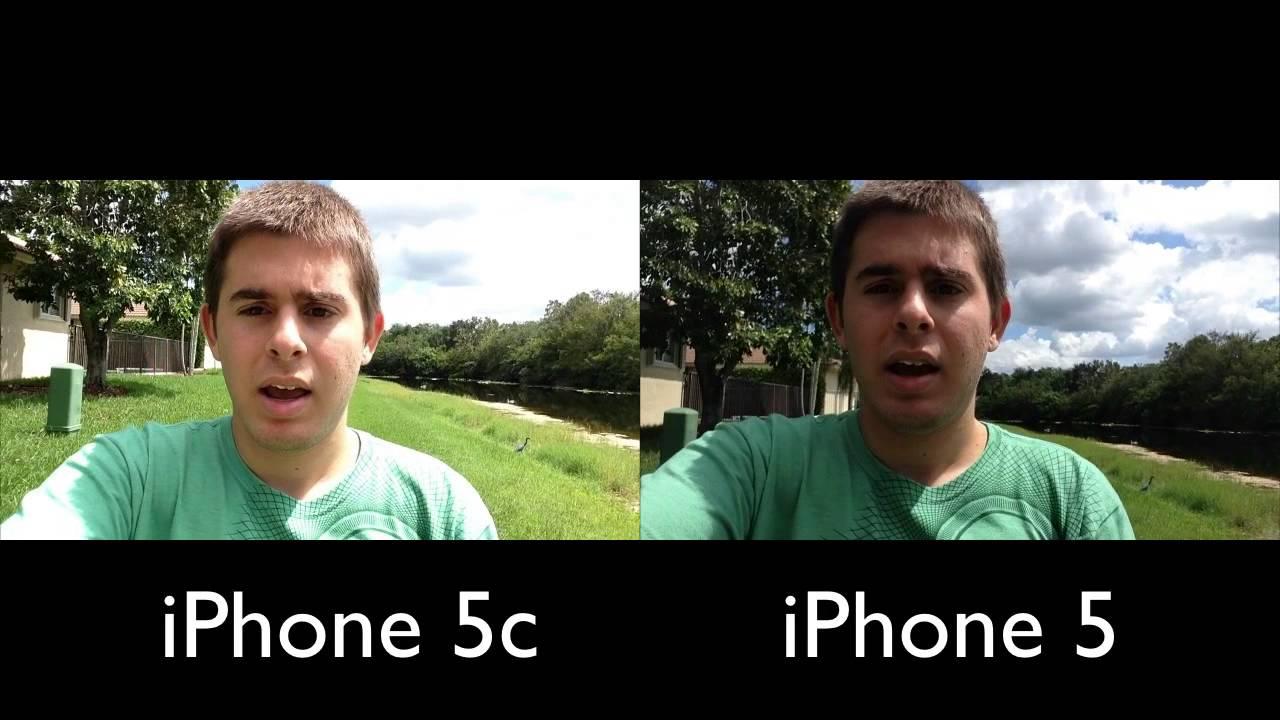 IPHONE 4S VS 5C CAMERA