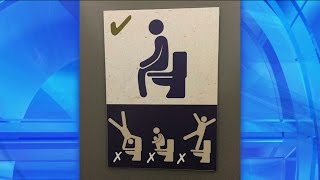 What's Wrong with These Signs? Signs: Bathroom Etiquette