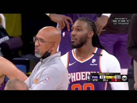 Suns Vs Lakers Heated Moment. Devin Booker and Crowder Ejected