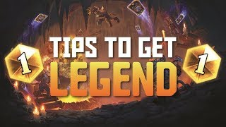 Hearthstone - Top 5 Tips for Reaching Legend