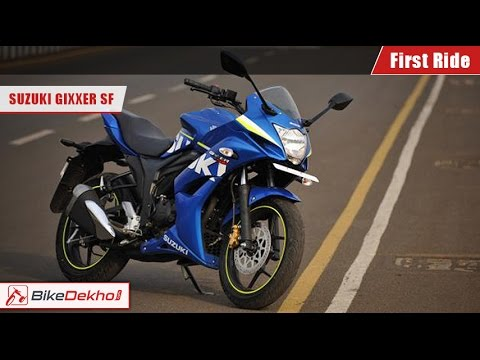 2015 Suzuki Gixxer SF First Ride