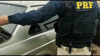 PRF prende traficante com 150 quilos de maconha na BR-470, em Lagoa Vermelha